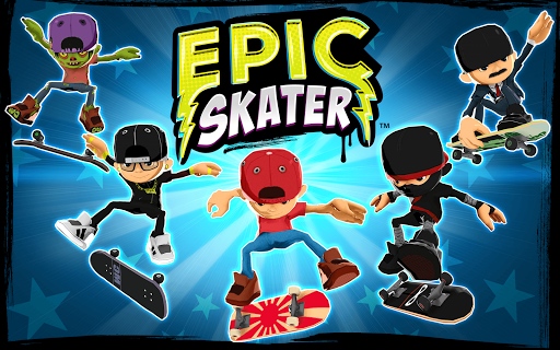 ApkLio Apk for Android Epic Skater v1.44 apk Game