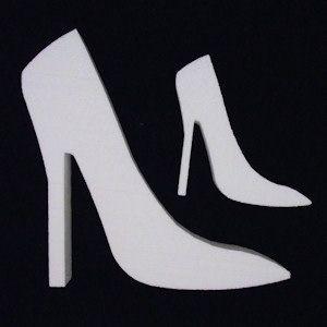 54b63ba78a20f Styrofoam High Heel Shoe (EPS Foam) $2.50 party decor for the girly ...