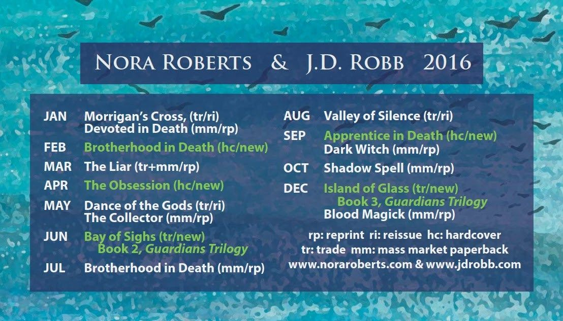 nora roberts books in order 2020