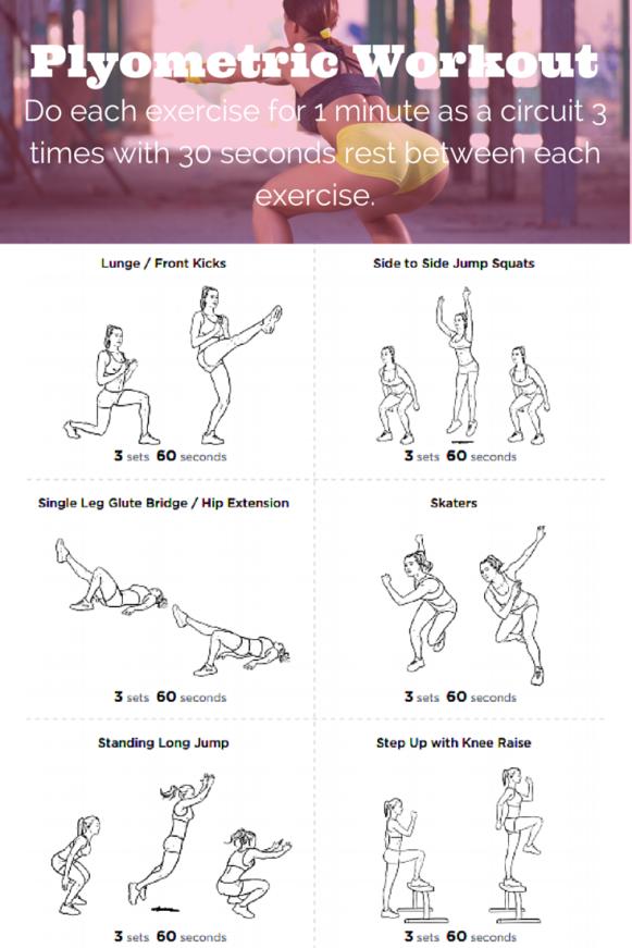WorkoutWednesday: Runner's Plyometric Workout | Get Big