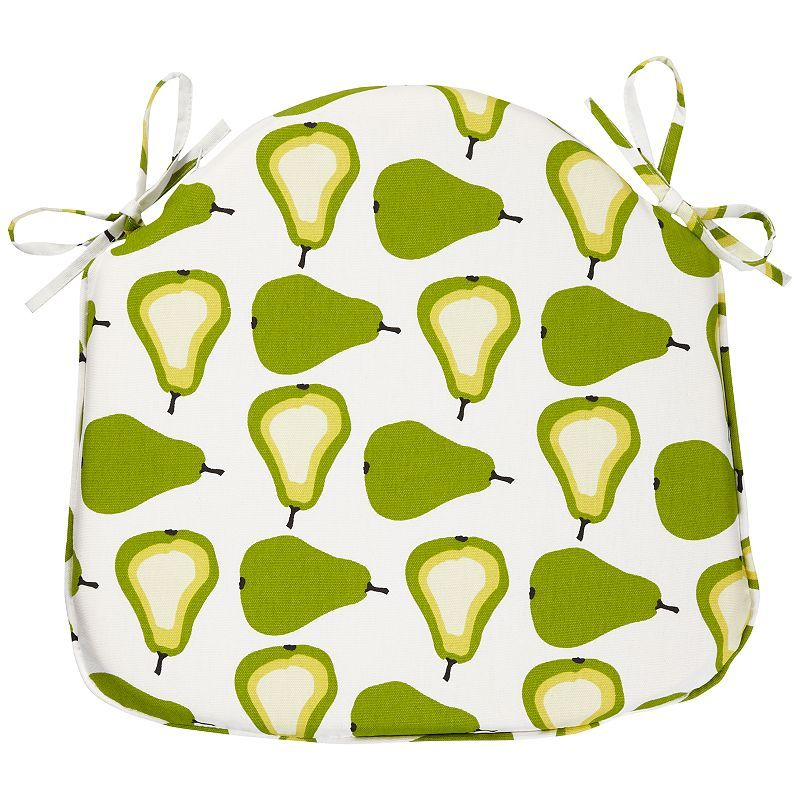Pear Seat Pad Green White Online At Johnlewis Com