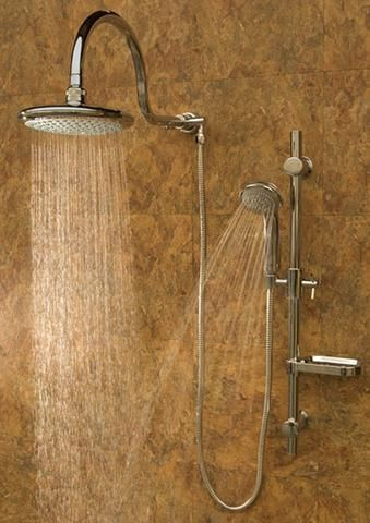Pulse Showerspas Kauai Iii Shower System Chrome Rain Shower