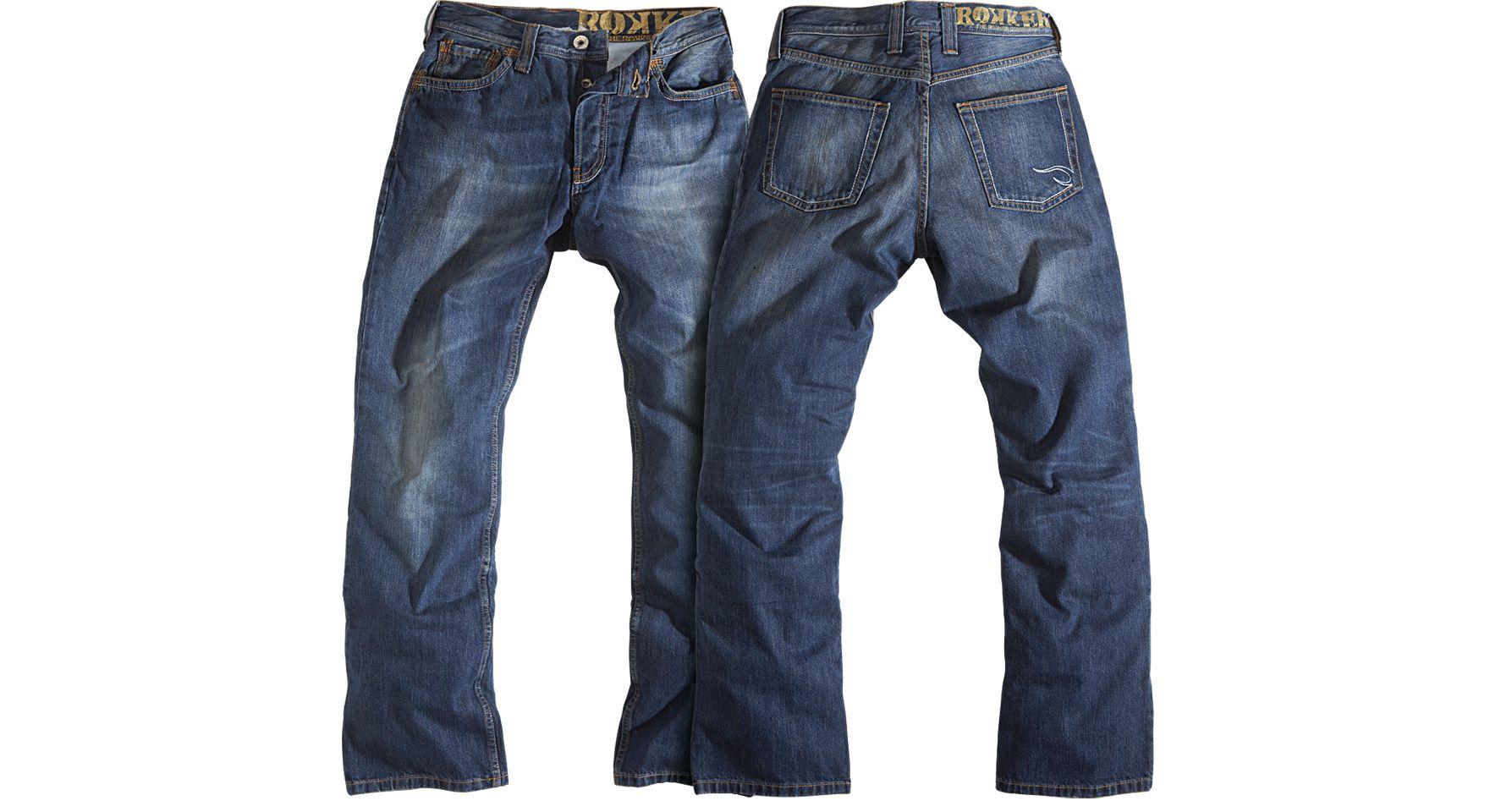 Rokker Original Motorcycle Jeans   Motorcycle jeans, Bike
