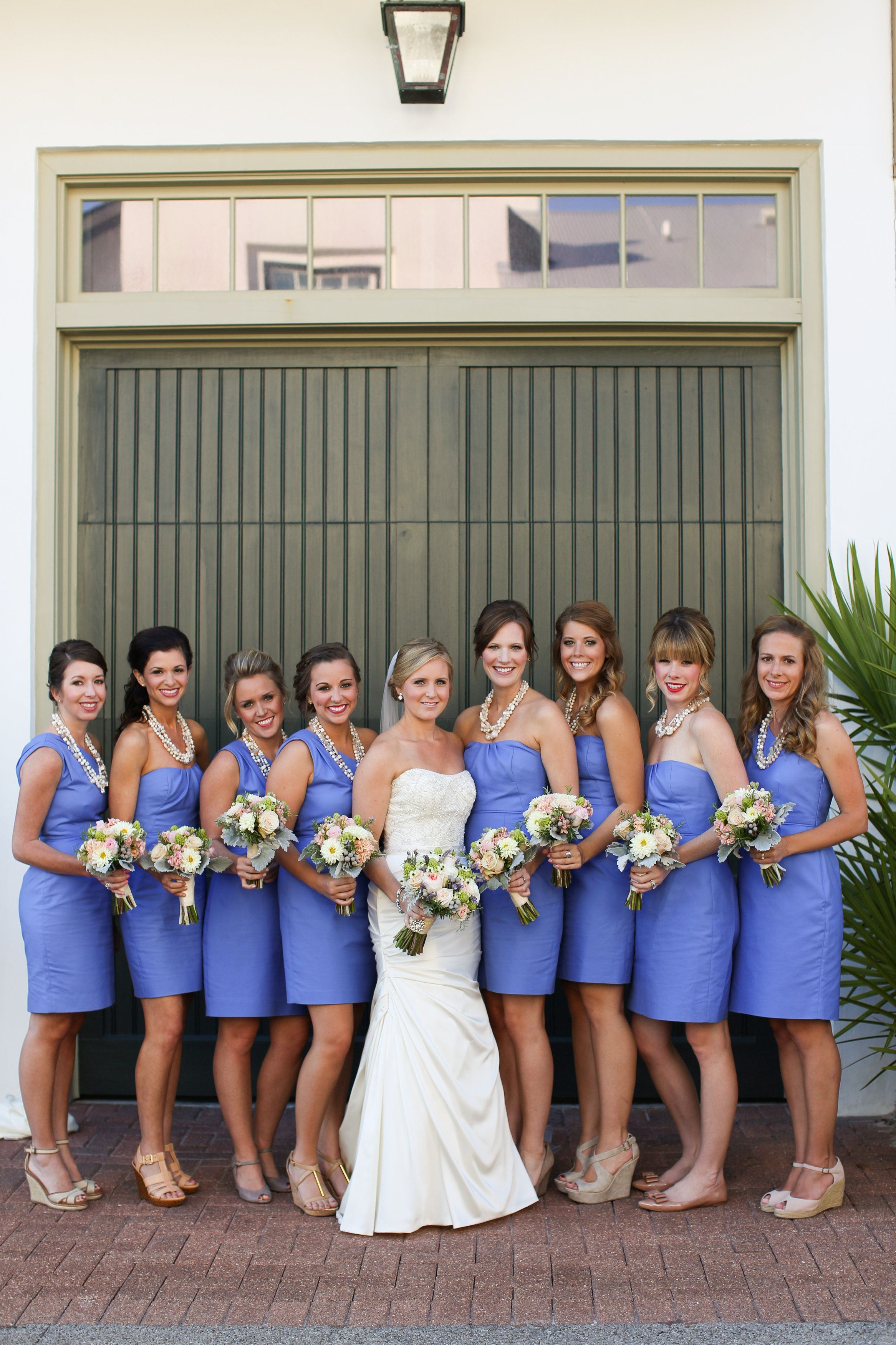 Bridesmaids in the prettiest shade of periwinkle blue photography bridesmaids in the prettiest shade of periwinkle blue photography anna k photography annakphotography ombrellifo Gallery