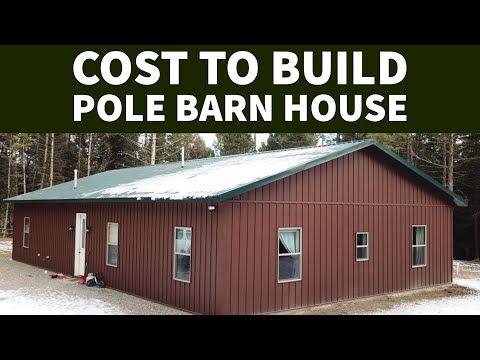 Cost To Build A Pole Barn House EP 21 #polebarnhouses