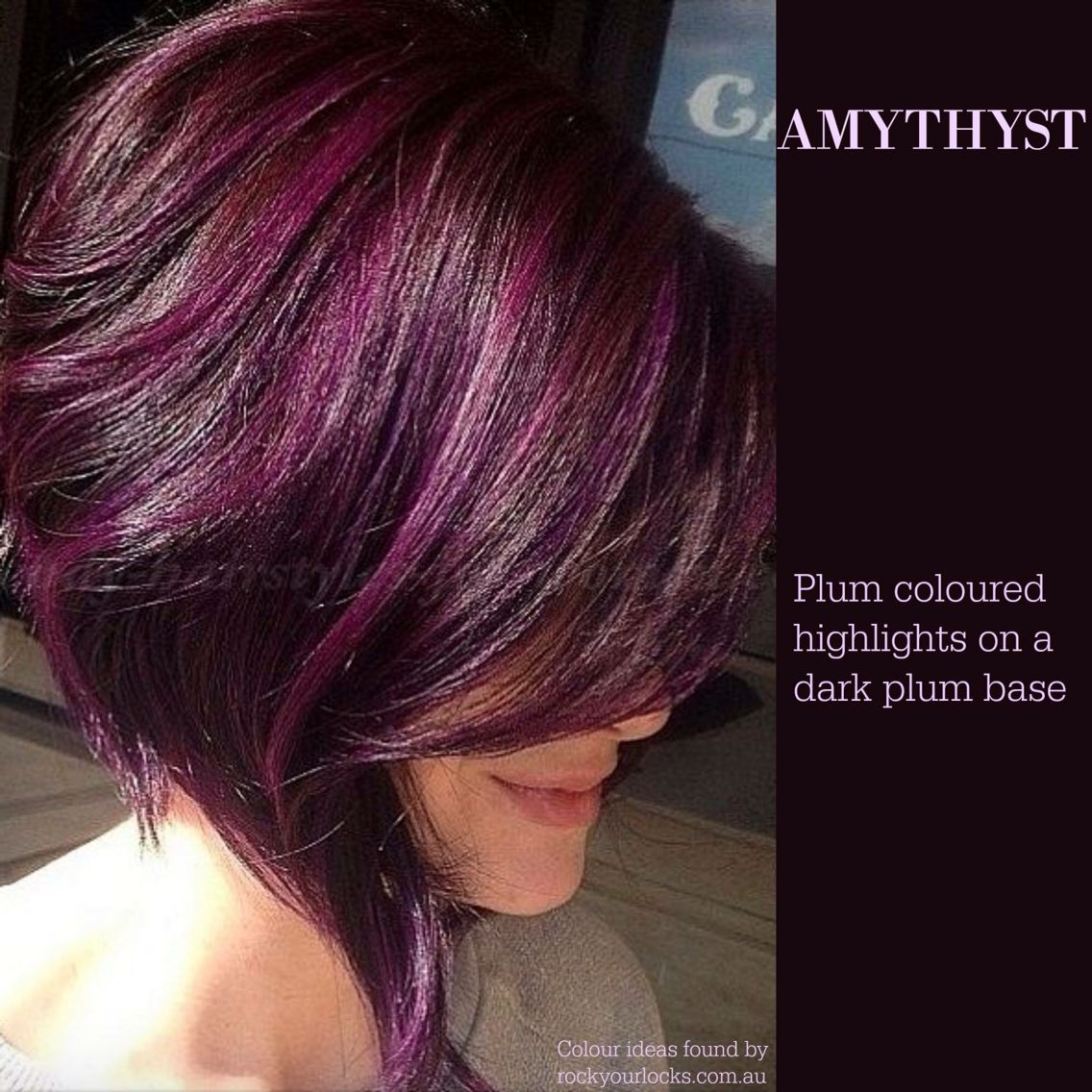 From rock your locks  COLOR  Pinterest  Rock Hair coloring and