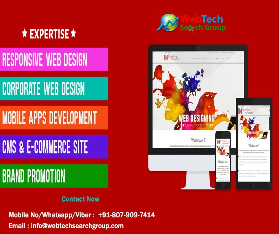 Web Designing Services We Have Creative And Original Content To Distinguish From Competitors With A Web Development Design Web Design Corporate Web Design