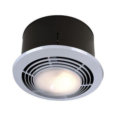 Exhaust Fan With Light Homedepot Com Nutone 70 Cfm Ceiling Exhaust Fan With Light And Heater Bathroom Fan Light Exhaust Fan Light Bathroom Heat Lamp