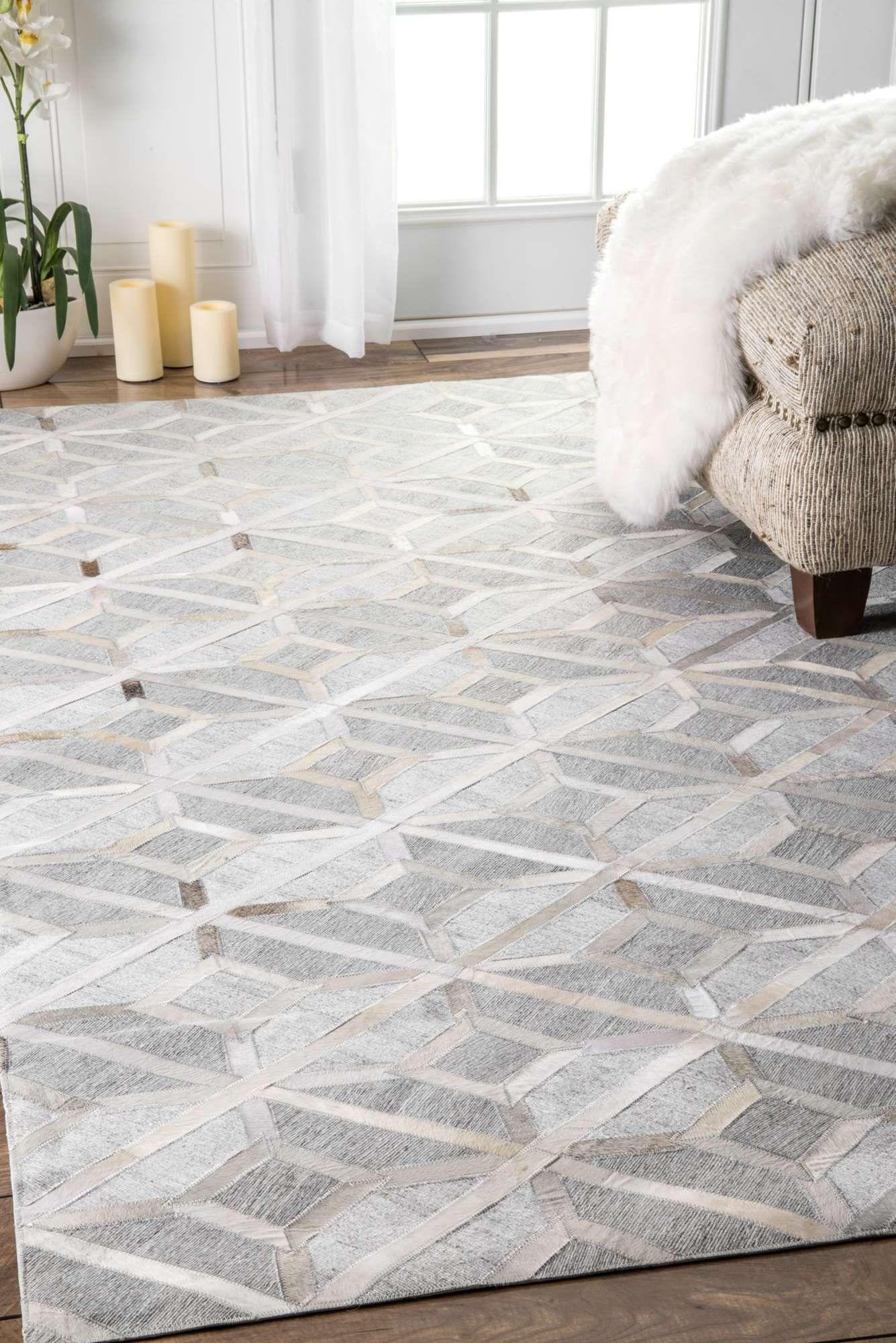 mandovicowhide diamond trellis rug  rugs usa shaggy rugs and  - mandovicowhide diamond trellis rug
