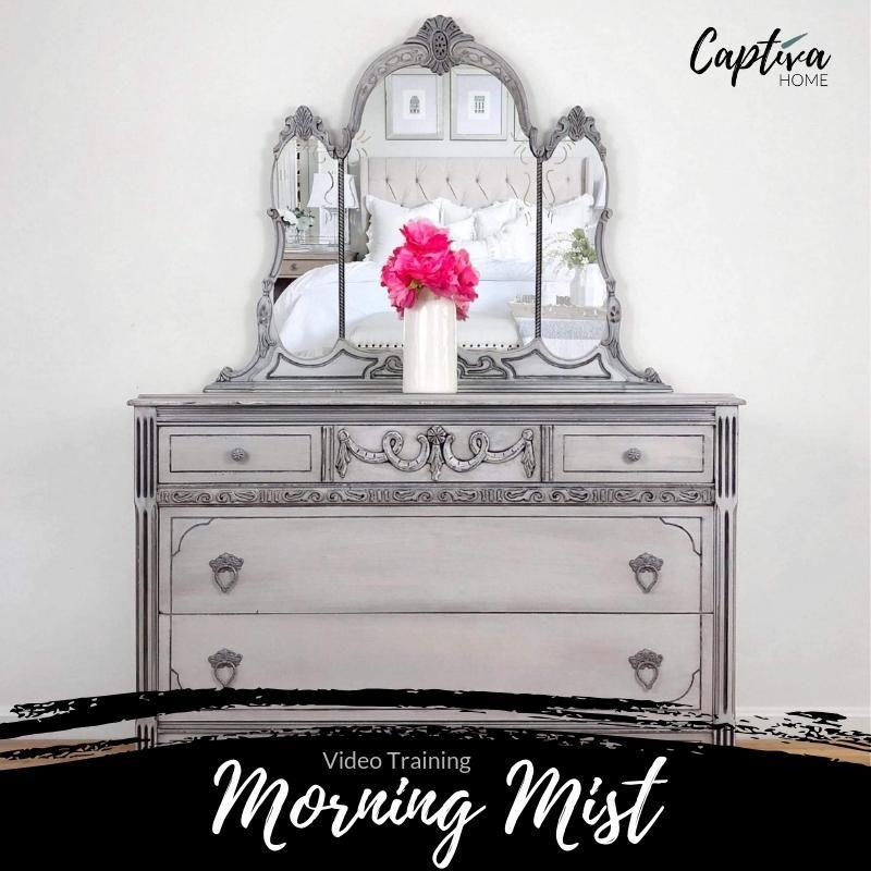 Morning Mist - Furniture Painting Technique - Video Training In ... Morning Mist - Furniture Painting Technique - Video Training In ... Diy Techniques and Supplies diy antique painting techniques