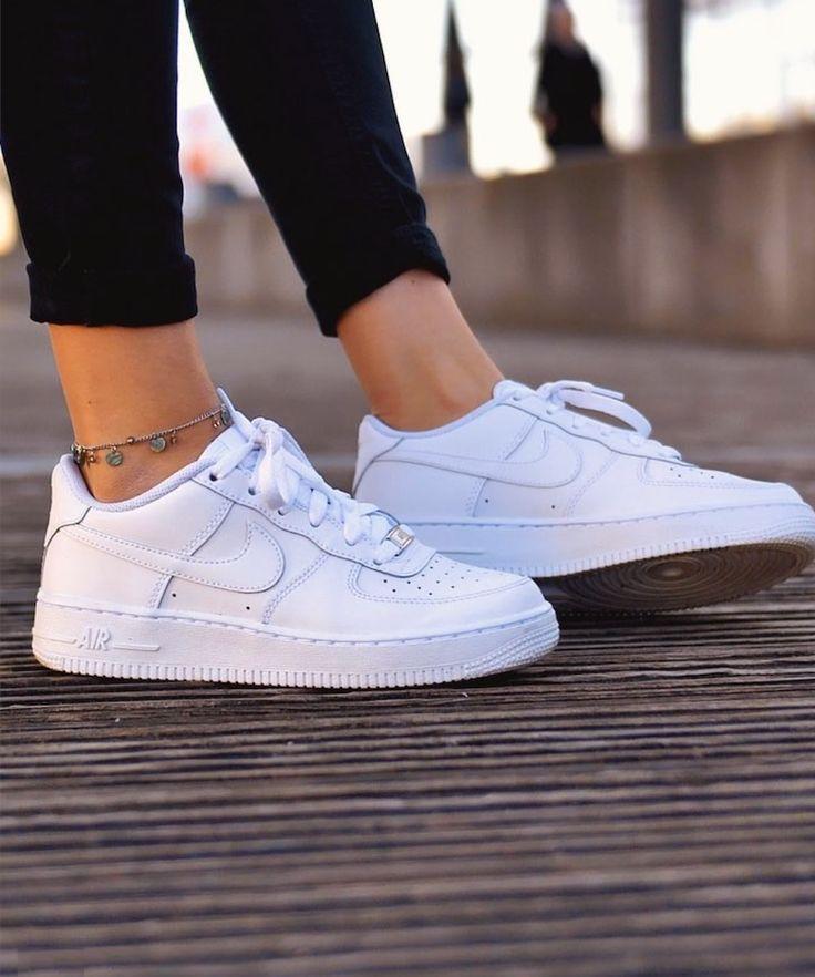 Nike Air Force 1 Shoes - White - Style- Julia O ...