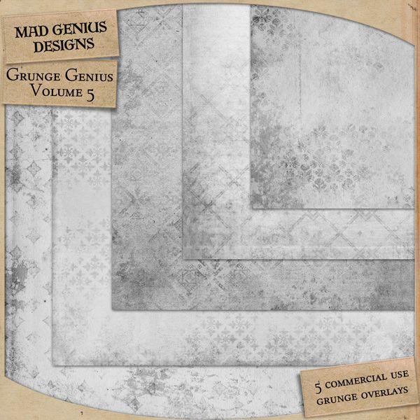 Grunge Genius Volume Five by Mad Genius Designs