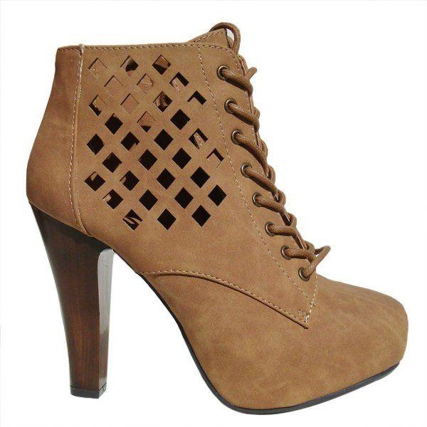 ANGELLE High Heel Pumps brown