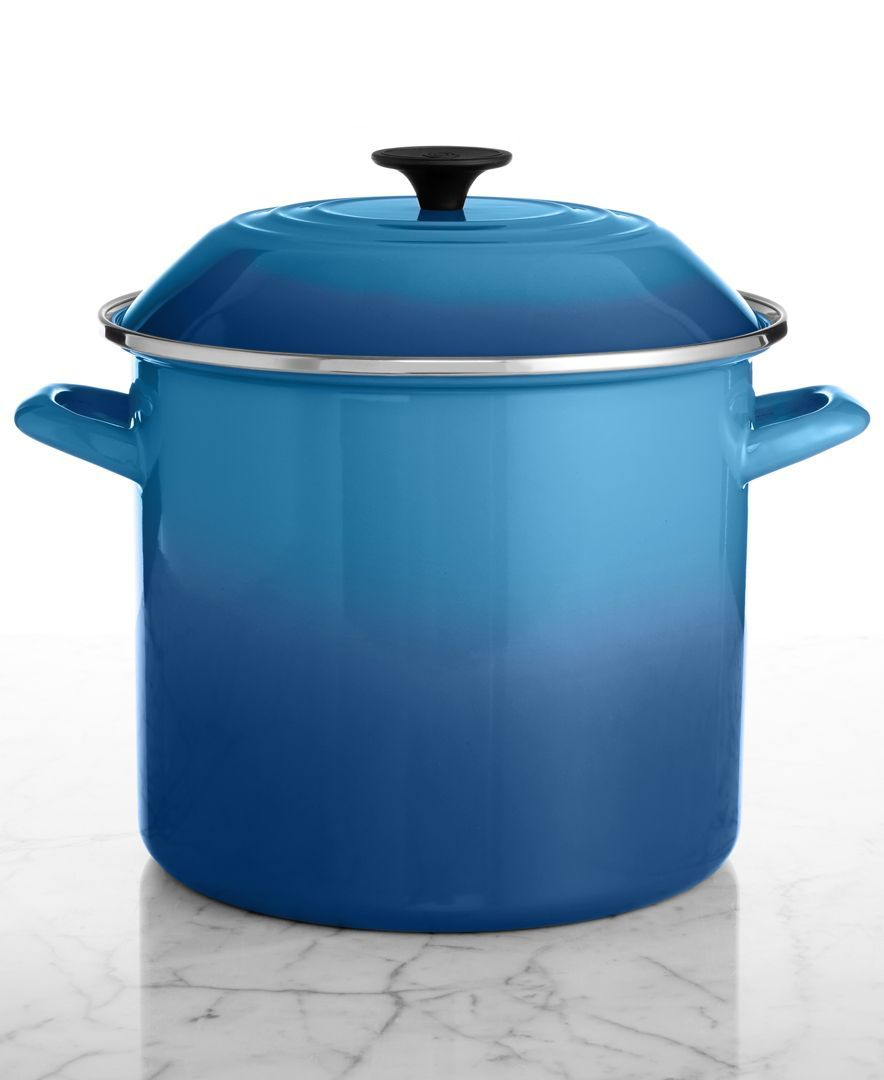 Le Creuset Enameled Steel 10 Qt. Covered Stockpot