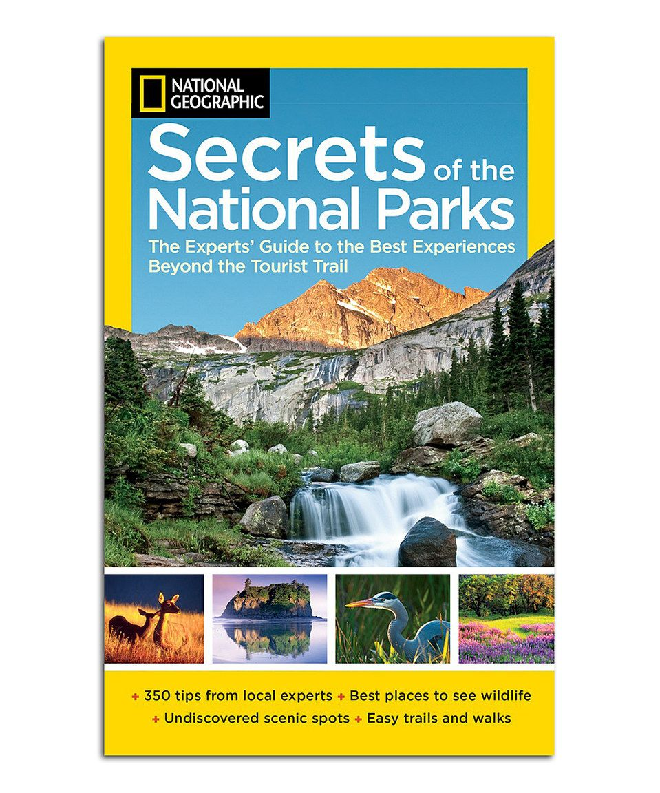 Look what I found on #zulily! Secrets of the National Parks Paperback by National Geographic #zulilyfinds