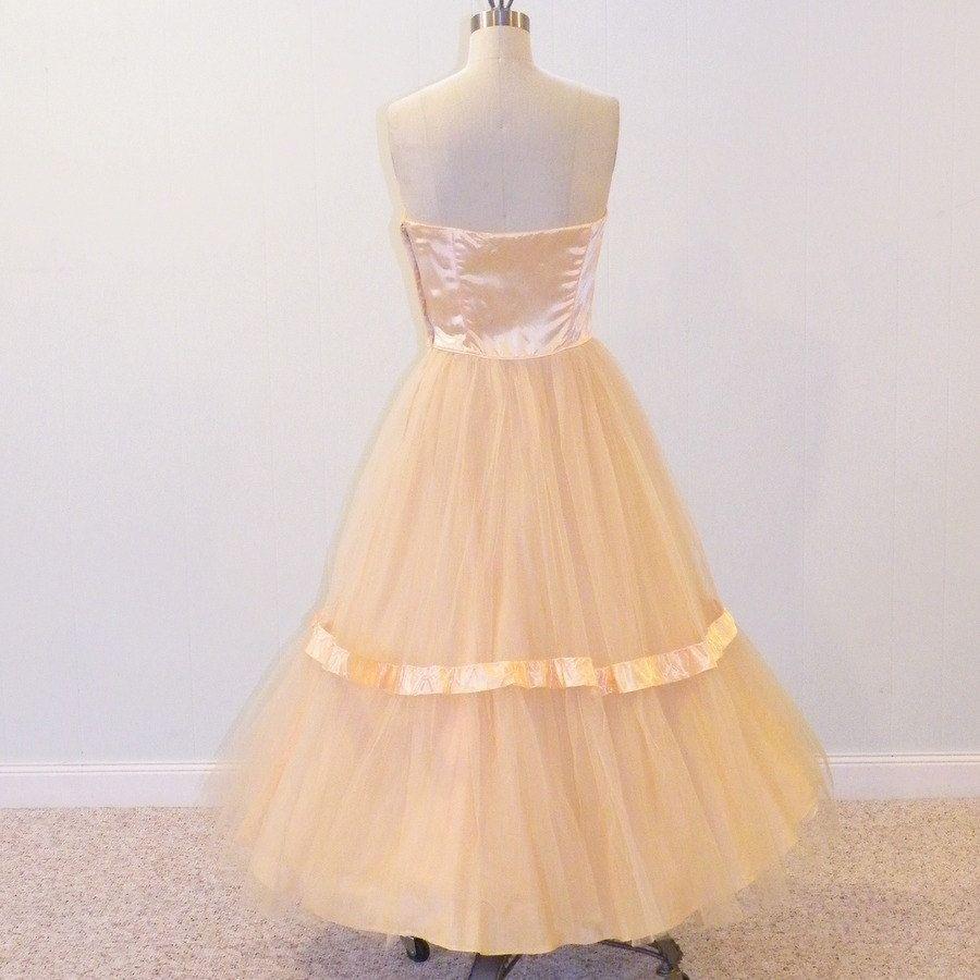 S party dress s strapless prom dress light salmon satin