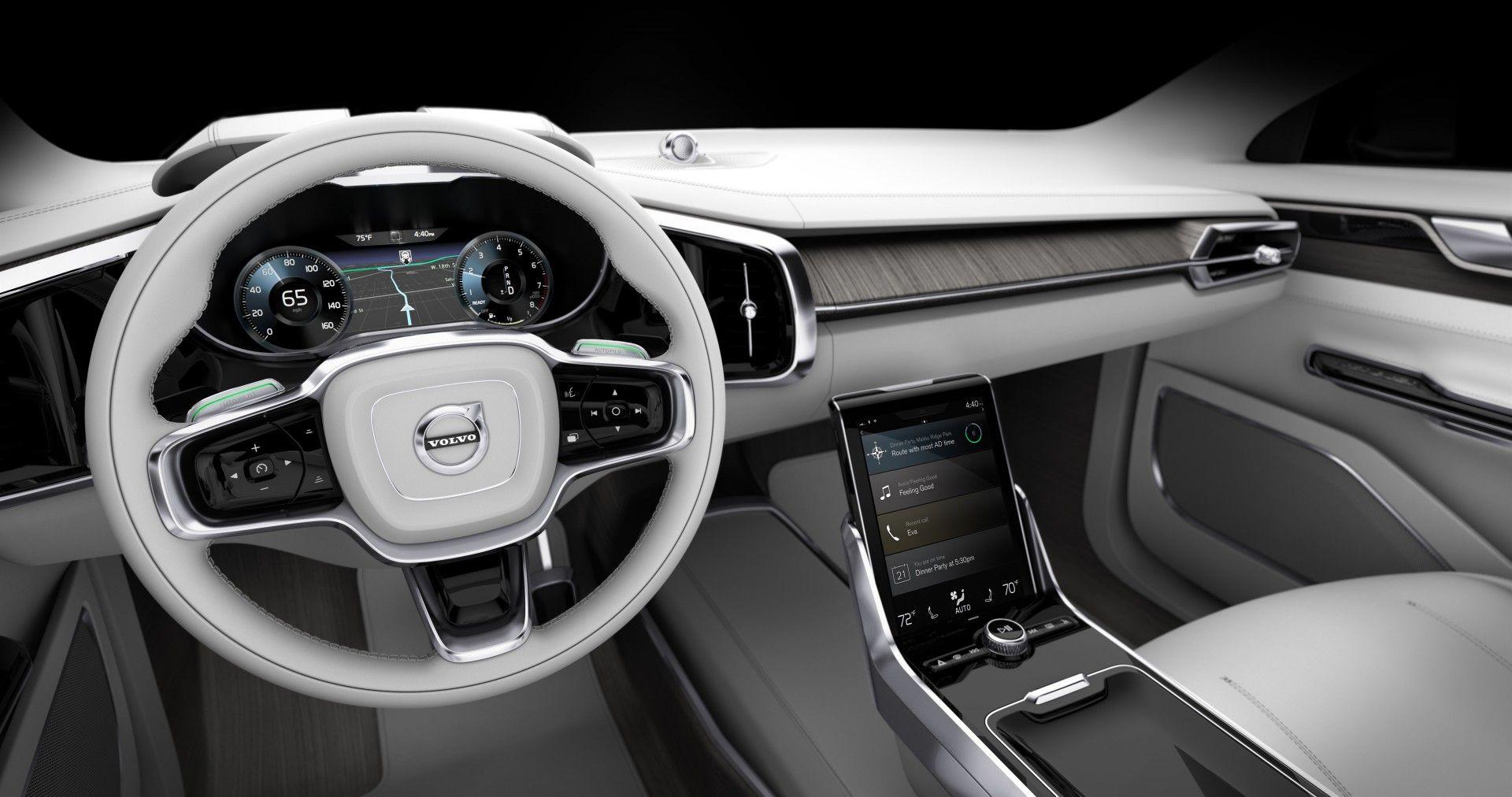 volvo-concept-fahrt-im-auto-interieur   Driverless Car   Pinterest ...