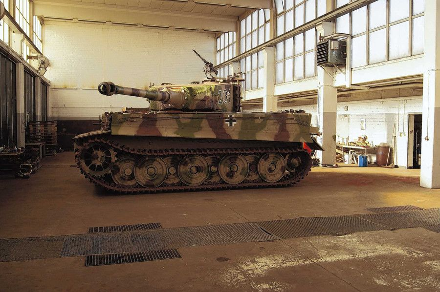 STOP PRESS: Previously unknown Tiger 1! - http://www.warhistoryonline.com/war-articles/7th-tiger-1.html
