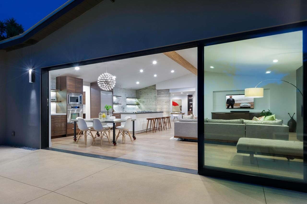 Best Space for a Party | Hgtv, Sliding glass door and Outdoor ...
