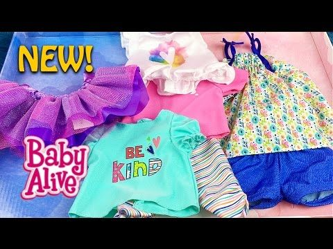 Baby Alive Clothes At Toys R Us Extraordinary 78 New Baby Alive Doll Mix N Match Outfit Set From Toys R Us Inspiration