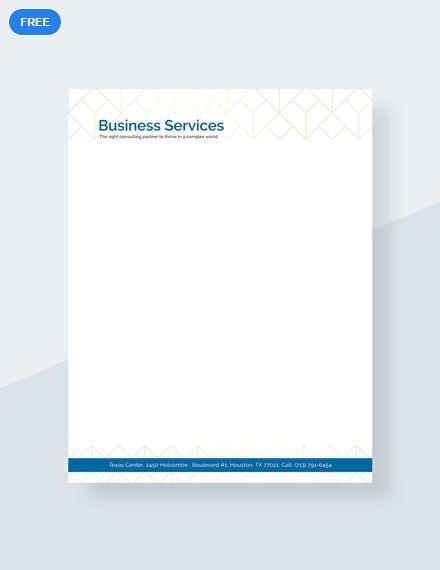 free business marketing letterhead letterhead templates designs