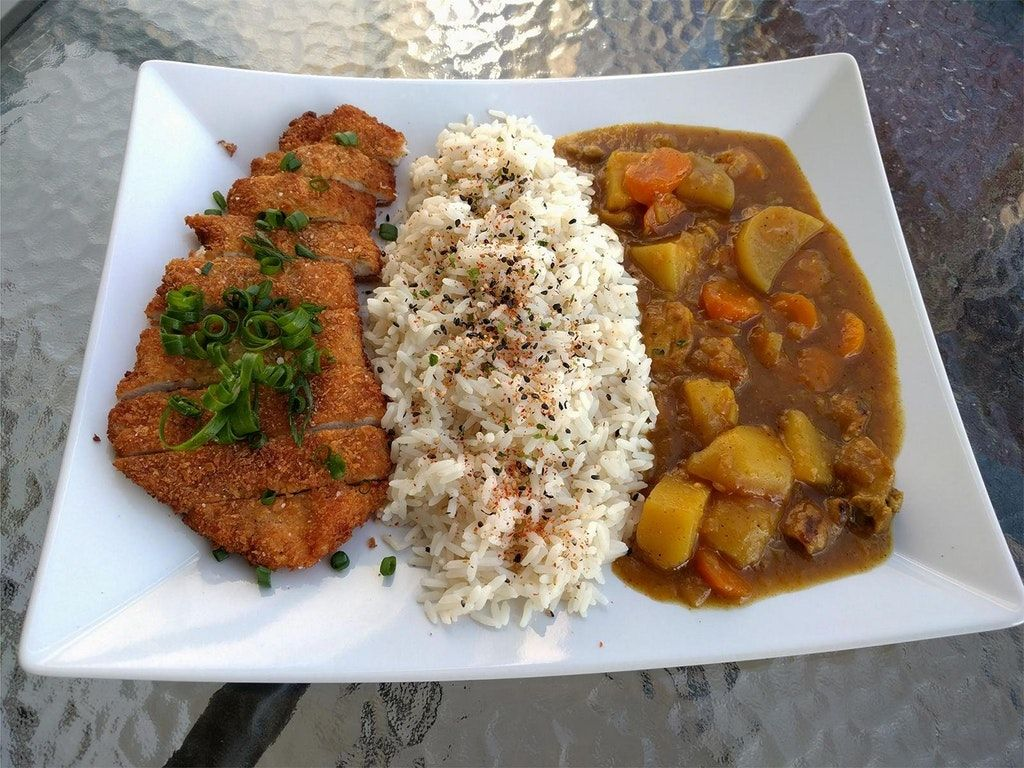 Homemade Chicken Katsu Curry Food Https Www Reddit Com R Food Comments 74fgwm Homemade Chicken Katsu Chicken Katsu Curry Homemade Curry Curry Recipes