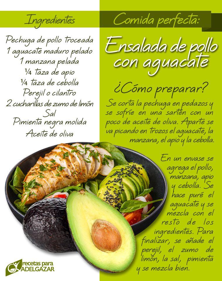 recetas de comida para una vida saludable
