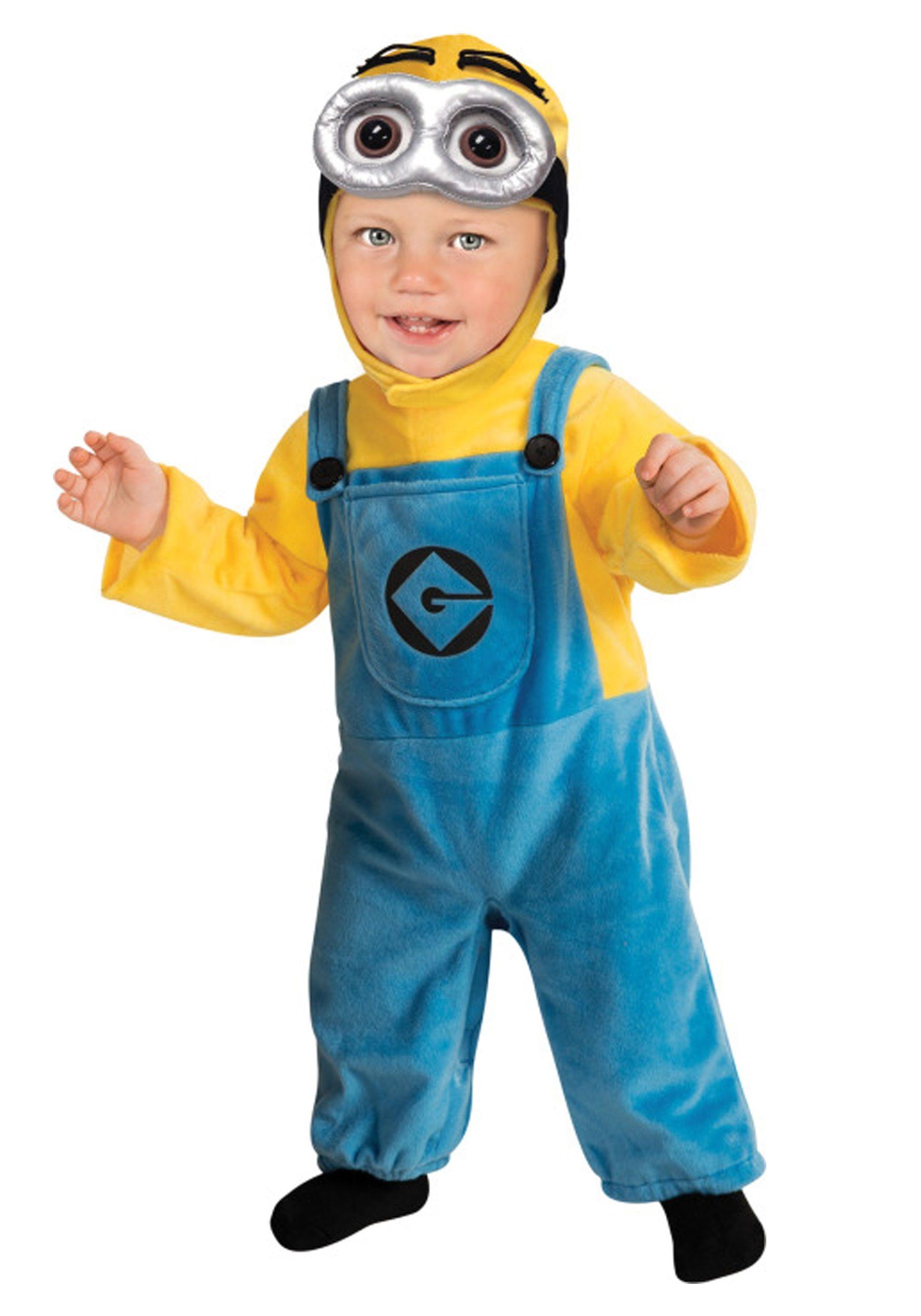 Disfraz de Minion para niños y niñas  f313476289a