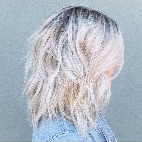 25 Blonde Balayage Short Hair Looks You Ll Love Short Hair Balayage Icy Blonde Hair Blonde Hair With Roots