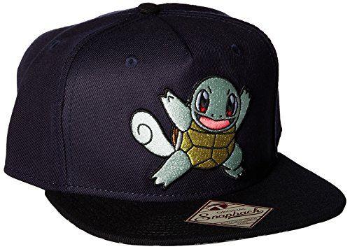 5e47df37050 BIOWORLD Pokemon Squirtle Color Block Snapback Hat Cap - Pokemon Cap ...