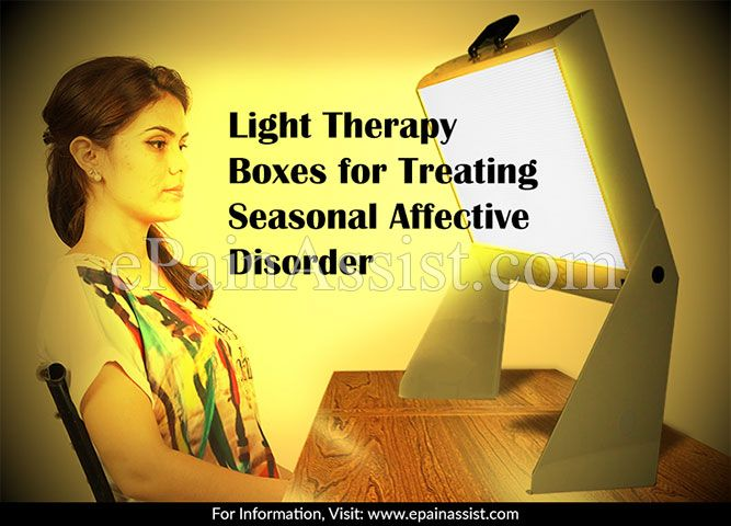 Light Therapy Boxes For Treating Seasonal Affective Disorder
