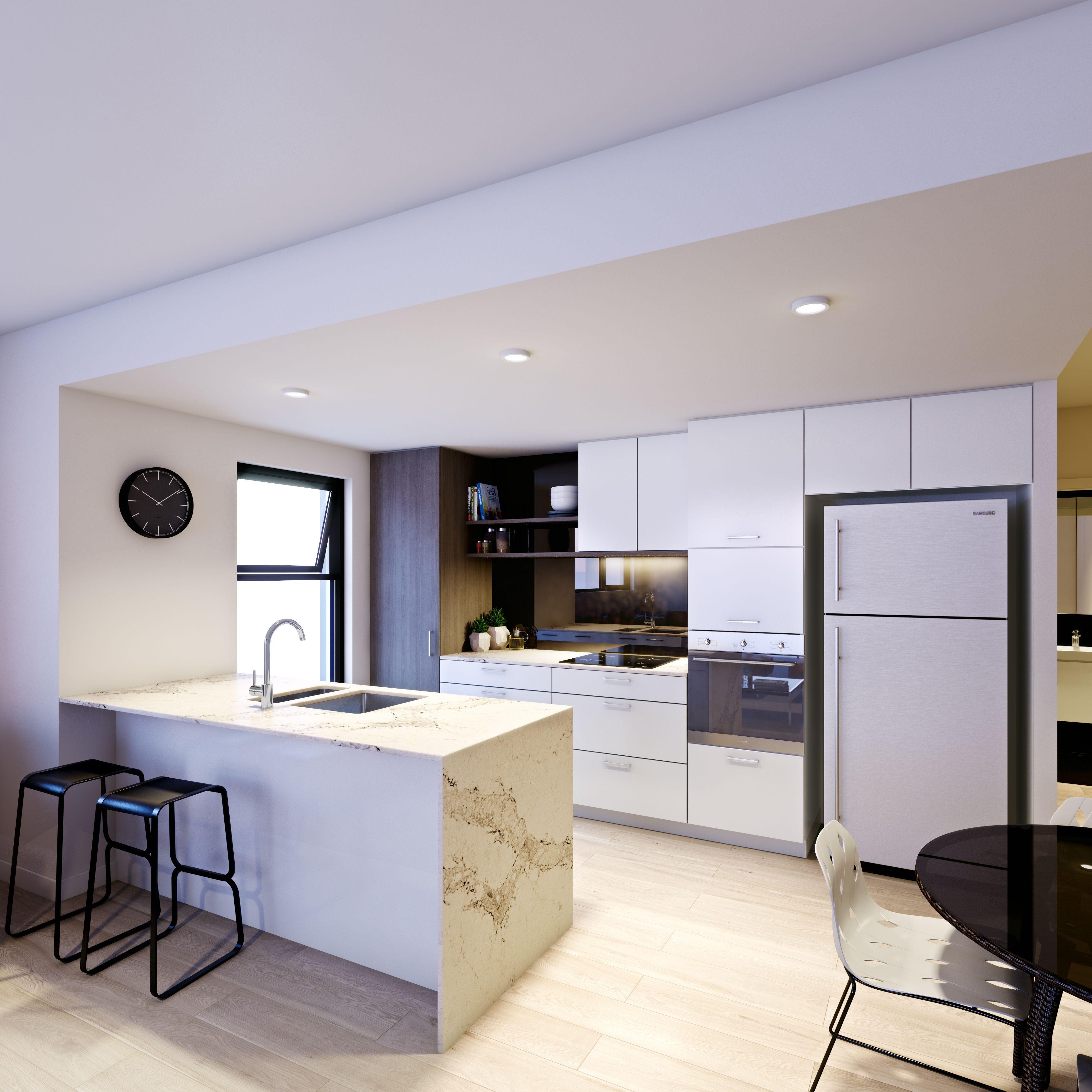 Kitchen Designer Brisbane Hilltop Apartments Apartment Living Multi Residential