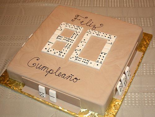 Domino Birthday Cakes domino cake Cake Pinterest Birthday
