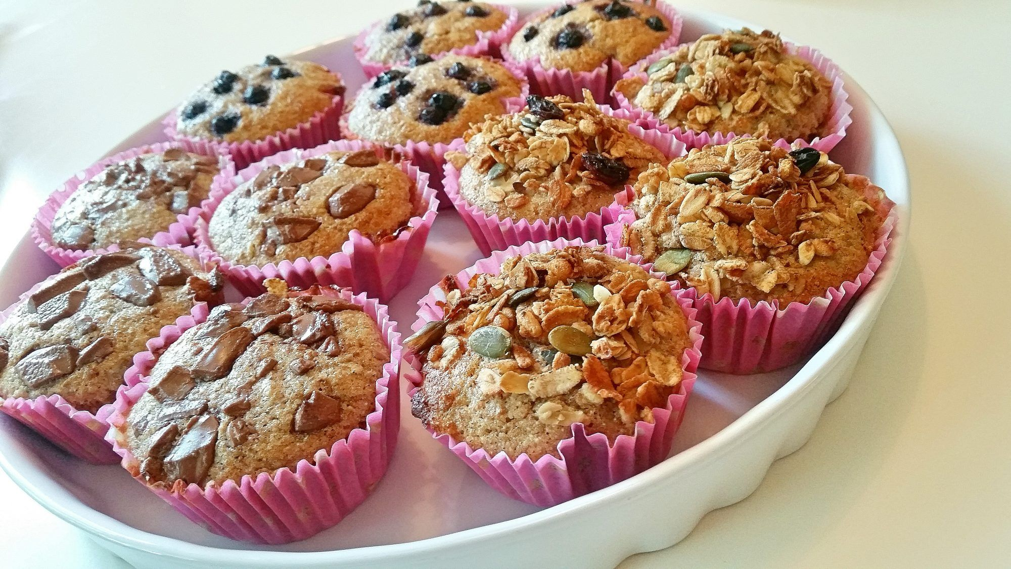 muffins utan mjölk