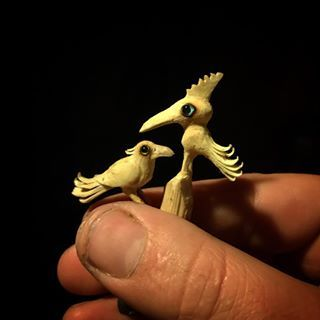 No Twigbird should travel alone. I like odd couples - In humans too.