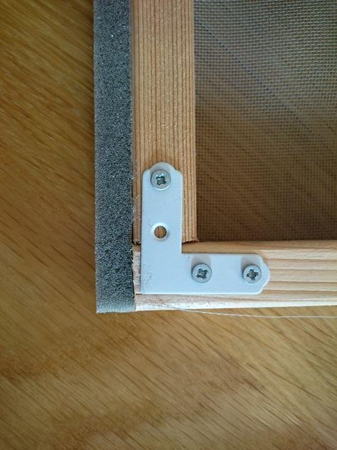 網戸を自作 Diy初心者でも簡単に木製の枠を作る方法 網戸 内窓 玄関 網戸 Diy