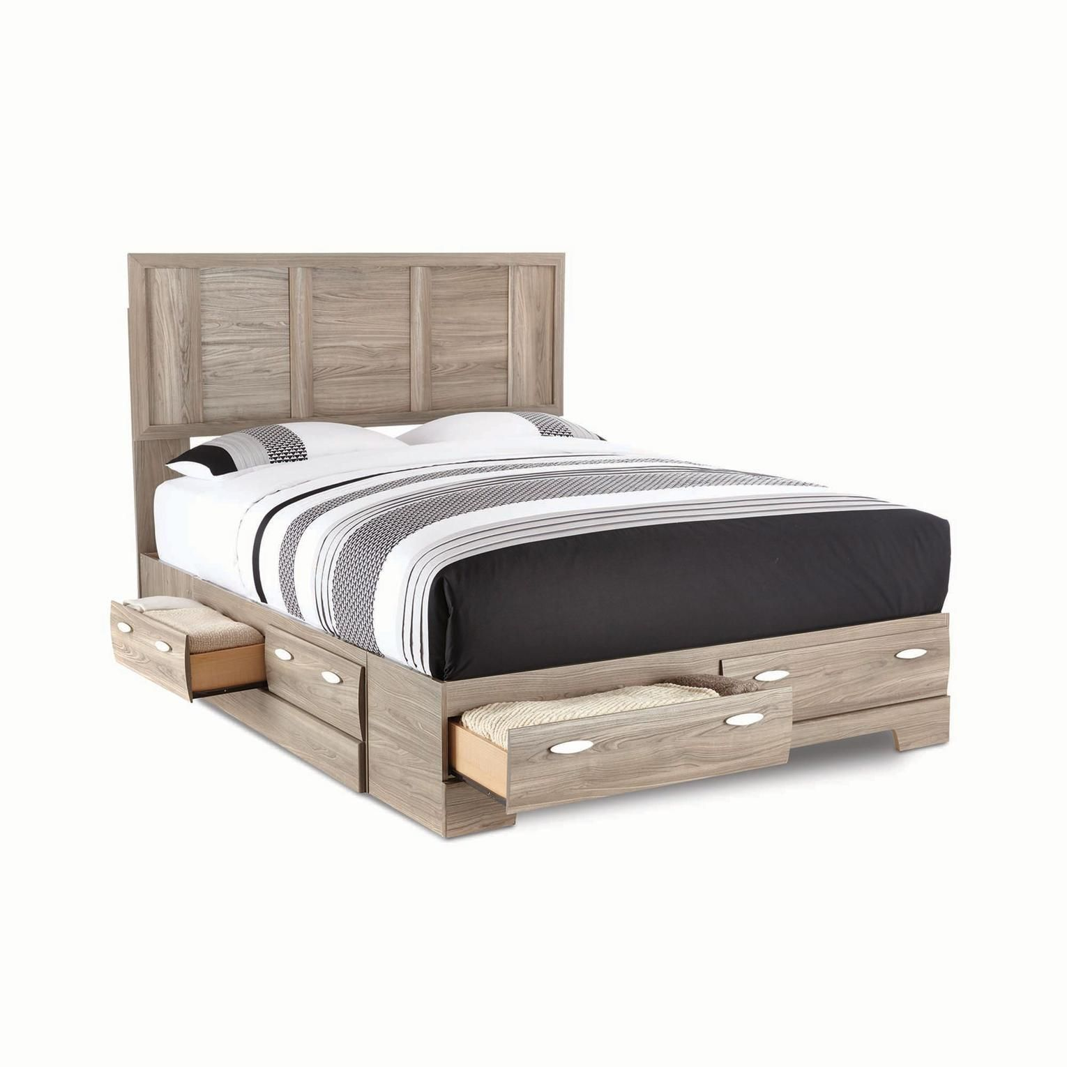 Buy Clarissa Panel Storage Bed Ensemble Online & Reviews