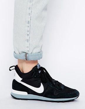 huge discount 807ba 72165 Agrandir Nike - Internationalist - Baskets mi-hautes - Noir