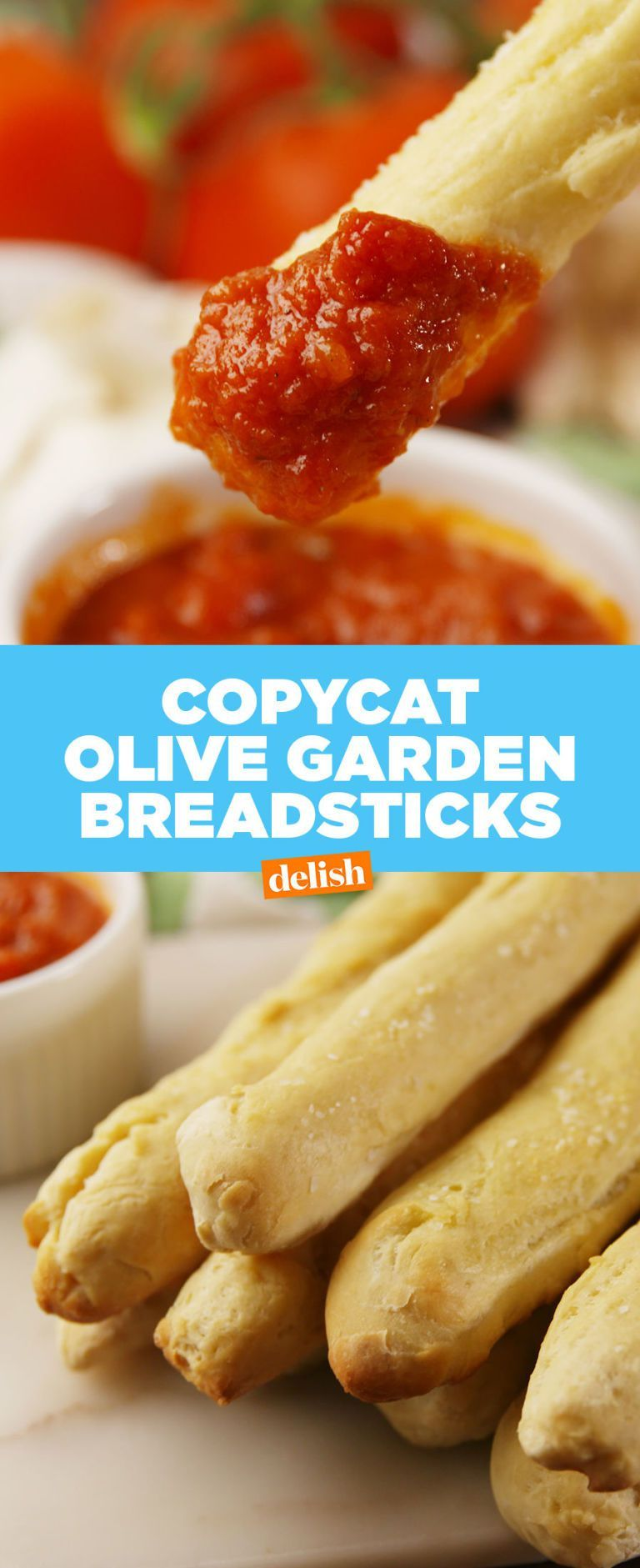 These Copycat Olive Garden Breadsticks Are Better Than The