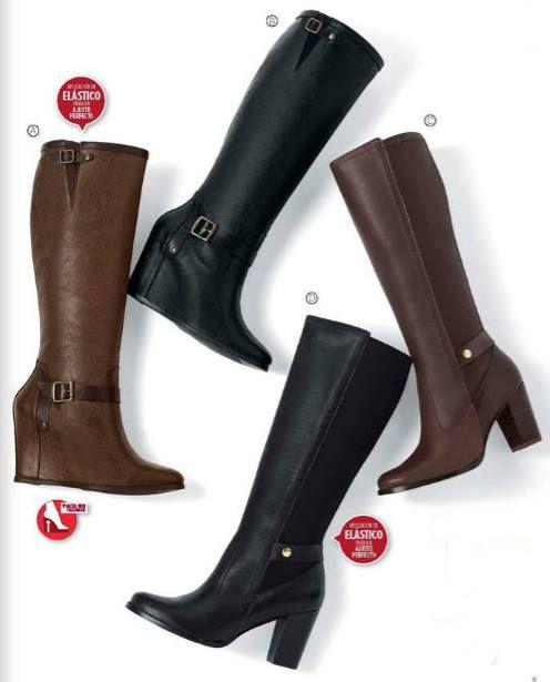 Catalogo Andrea Calzado Dama Otoño Invierno 2015 Boots Shoes Riding Boots