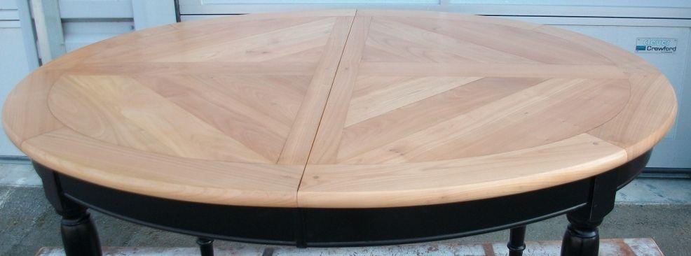 p\u003eCette table de style Louis Philippe en merisier des années 90 - comment patiner un meuble en merisier