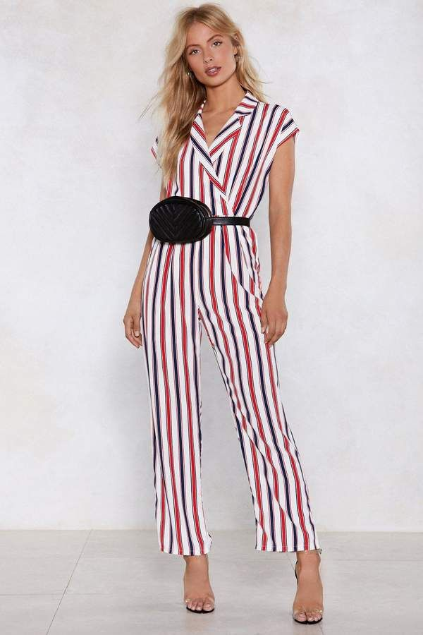 421c2b579738 Nasty Gal Lay Down the Line Jumpsuit