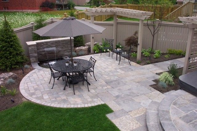 Decor Of Suburban Backyard Landscaping Ideas Oasis Landscape Richmond Hill Traditional
