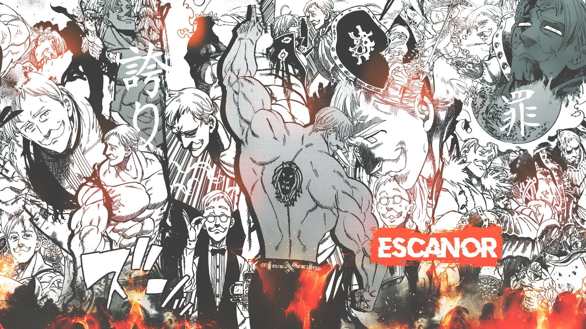 Anime The Seven Deadly Sins Escanor The Seven Deadly Sins 1080p Wallpaper Hdwallpaper Desktop In 2020 Seven Deadly Sins Anime Praise The Sun