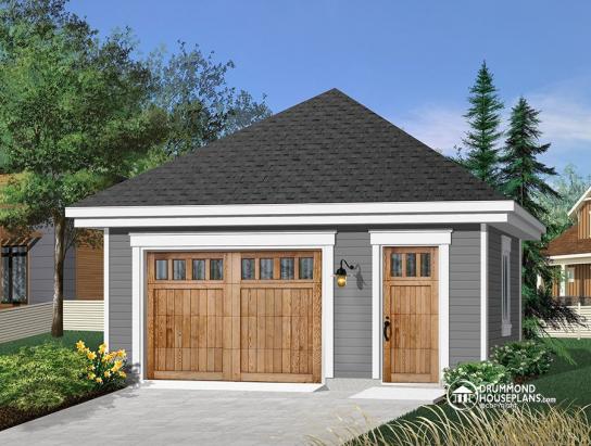 Garage Plan W2991 Detail From Drummondhouseplans Com Shedplans In 2020 Garage Plans With Loft Garage Design Garage Remodel