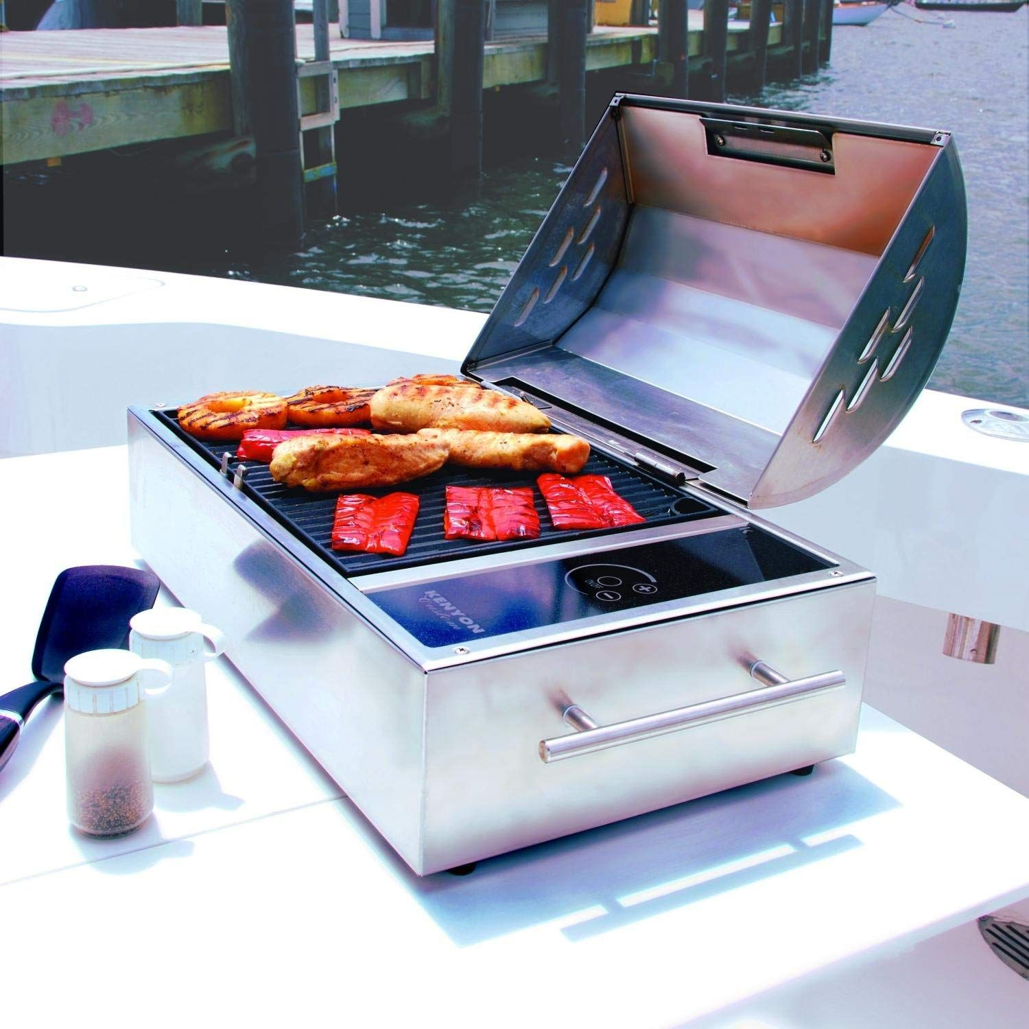 The Floridian Portable Electric Grill By Kenyon Offers Users An