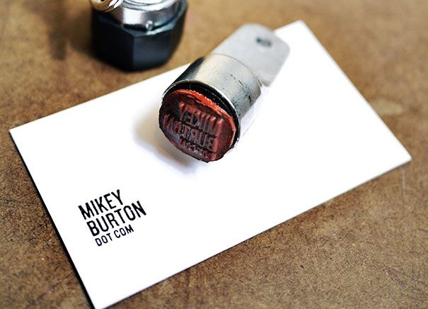 Rubber stamp business card da biz pinterest business cards and rubber stamp business card colourmoves