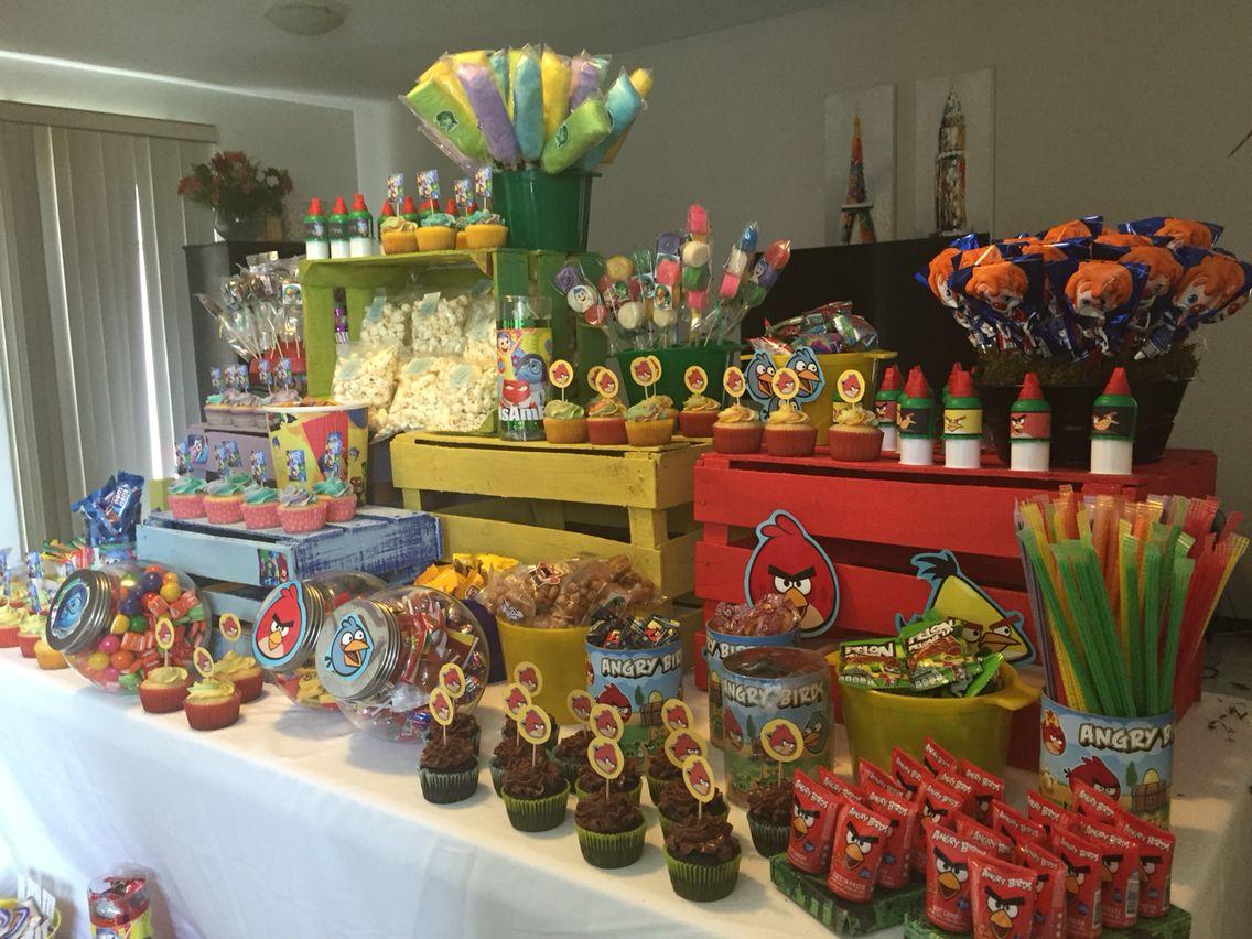 Sweetcornerdesigns mesa de postres infantil for Mesas de dulces infantiles