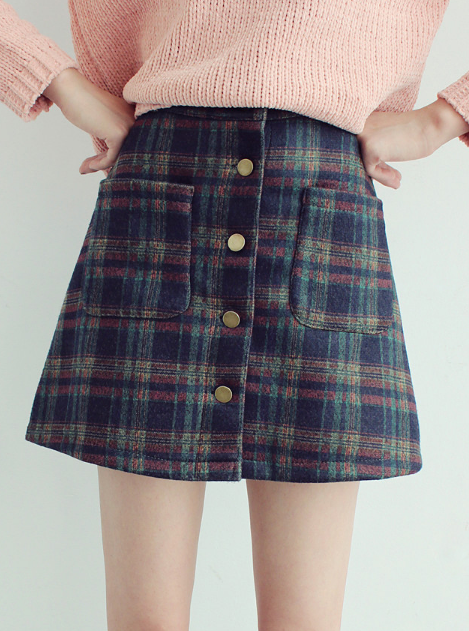 0fa3c01d9763 Fall/Winter Vintage Plaid Skirt sold by Moooh!!. Shop more products from  Moooh!! on Storenvy, the home of independent small businesses all over the  world.