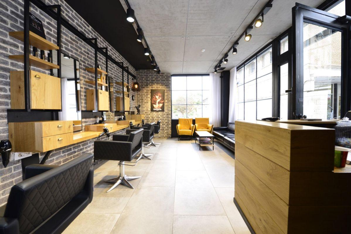 Reception area salones de belleza sala de belleza - Diseno de salon ...